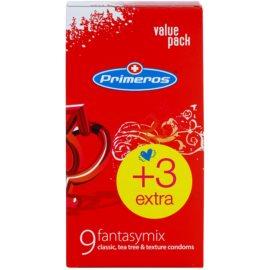 Primeros Fantasymix preservativos (Classic, Tea Tree, Texture) 12 ud