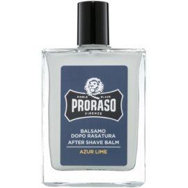 Proraso Azur Lime nawilżający balsam po goleniu odżywczy krem regenerujący  100 ml