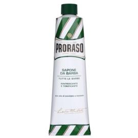 Proraso Green mydlo na holenie mydlo na holenie v tube  150 ml