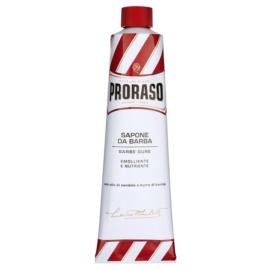 Proraso Red Rasierseife für harte Barthaare in der Tube  150 ml