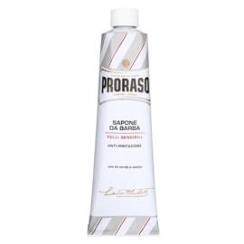 Proraso White mýdlo na holení pro citlivou pleť v tubě  150 ml