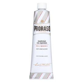 Proraso White jabón de afeitar para pieles sensibles en tubo  150 ml