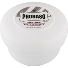 Proraso White mýdlo na holení pro citlivou pleť  150 ml