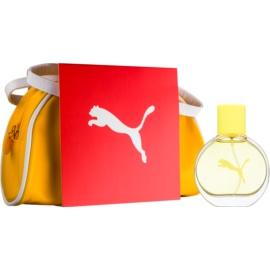 Puma Yellow Woman Geschenkset II.  Eau de Toilette 40 ml + Täschchen 1 ks