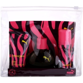 Puma Animagical Woman Geschenkset I. Deo natural spray 50 ml + Eau de Toilette 40 ml + Duschgel 50 ml