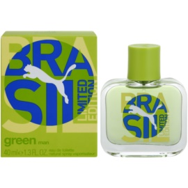 Puma Green Brasil Edition Eau de Toilette for Men 40 ml