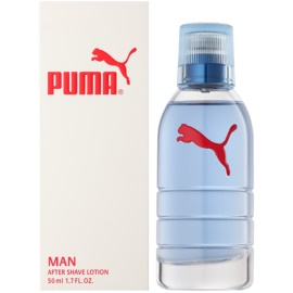 Puma Red and White loción after shave para hombre 50 ml