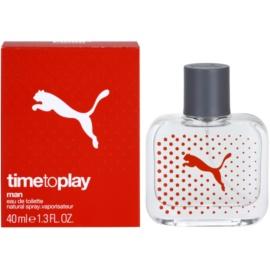 Puma Time To Play woda toaletowa dla mężczyzn 40 ml