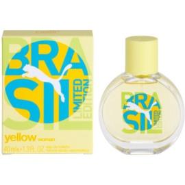 Puma Yellow Brasil Edition (2014) Eau de Toilette para mulheres 40 ml