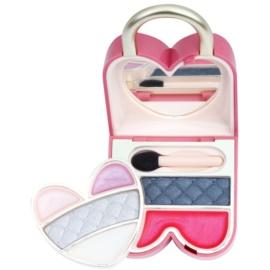 Pupa Princess Pretty Lock conjunto de maquilhagem para olhos e lábios tom 005 Light Purple 6,4 g