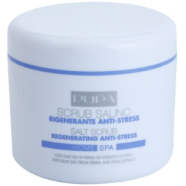Pupa Home SPA Regenerating Anti-Stress regeneračná peelingová soľ proti stresu  350 g