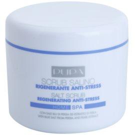 Pupa Home SPA Regenerating Anti-Stress regenerační peelingová sůl proti stresu  350 g