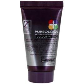 Pureology Colour Fanatic hloubková maska pro barvené vlasy  30 ml
