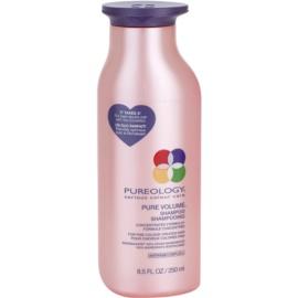Pureology Pure Volume szampon do zwiększenia objętości do delikatnych włosów farbowanych  250 ml