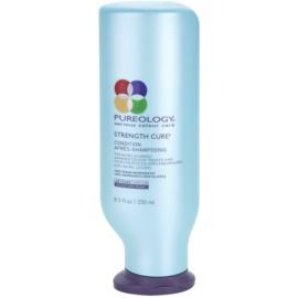 Pureology Strength Cure odżywka wzmacniająca do włosów zniszczonych i farbowanych  250 ml