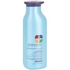 Pureology Strength Cure подсилващ шампоан за увредена и боядисана коса  250 мл.