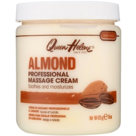 Queen Helene Almond creme de massagem para rosto e corpo  425 g