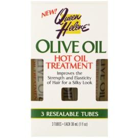 Queen Helene Olive Oil Haarpackung für glänzendes und geschmeidiges Haar  3 x 30 ml