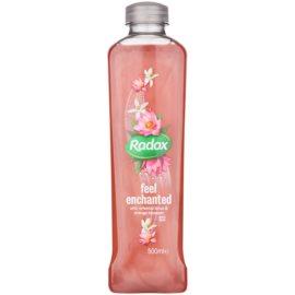 Radox Feel Luxurious Feel Enchanted espuma de baño Oriental Lotus & Orange Blossom 500 ml