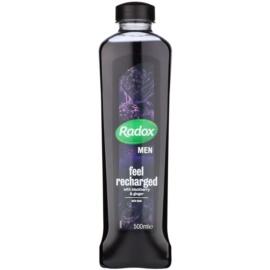 Radox Men Feel Recharged espuma de baño Blackberry & Ginger 500 ml