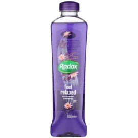 Radox Feel Restored Feel Relaxed Bath Foam Lavender & Waterlilly 500 ml