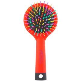 Rainbow Brush Large szczotka do włosów z lusterkiem Orange