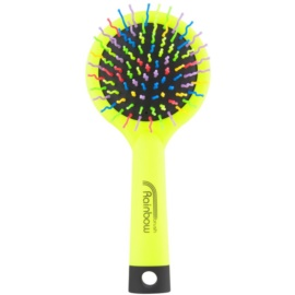 Rainbow Brush Large szczotka do włosów z lusterkiem Yellow