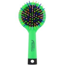Rainbow Brush Large szczotka do włosów z lusterkiem Green