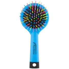 Rainbow Brush Large szczotka do włosów z lusterkiem Blue