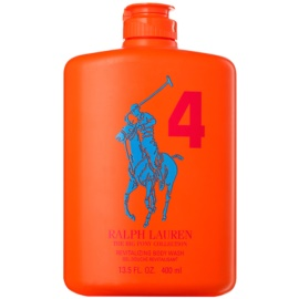 Ralph Lauren The Big Pony 4 Orange gel za prhanje za moške 400 ml