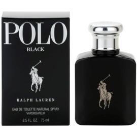 Ralph Lauren Polo Black toaletna voda za moške 75 ml