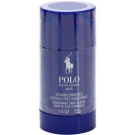 Ralph Lauren Polo Blue Deodorant Stick voor Mannen 75 gr