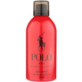 Ralph Lauren Polo Red tělový sprej pro muže 300 ml