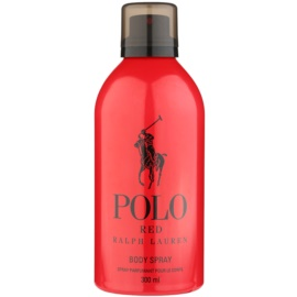 Ralph Lauren Polo Red spray corporal para hombre 300 ml
