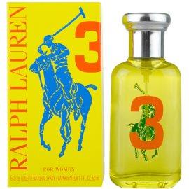 Ralph Lauren The Big Pony Woman 3 Yellow woda toaletowa dla kobiet 50 ml