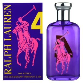 Ralph Lauren The Big Pony Woman 4 Purple Eau de Toilette para mulheres 100 ml
