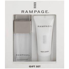 Rampage Rampage dárková sada II. parfémovaná voda 30 ml + tělové mléko 40 ml