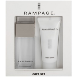 Rampage Rampage set cadou II.  Eau de Parfum 30 ml + Lotiune de corp 40 ml