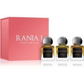 Rania J. Priveé Rubis Collection Geschenkset I.  Eau de Parfum 3 x 5 ml