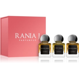 Rania J. Priveé Rubis Collection Geschenkset II.  Eau de Parfum 3 x 5 ml