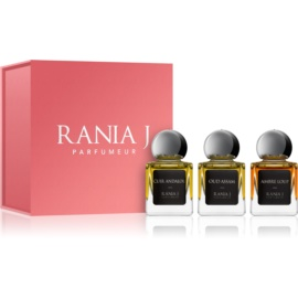 Rania J. Priveé Émeraude Collection lote de regalo IV.  eau de parfum 3 x 5 ml