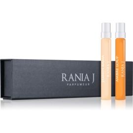 Rania J. Travel Collection подаръчен комплект  съдържание 2 x 8 ml