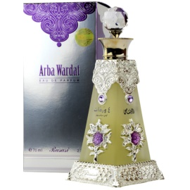 Rasasi Arba Wardat Eau de Parfum unissexo 70 ml