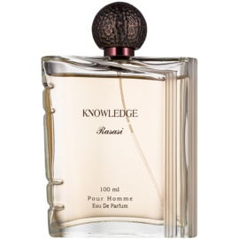 Rasasi Knowledge Eau de Parfum voor Mannen 100 ml