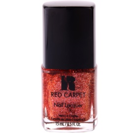 Red Carpet Lacquer lak na nehty se třpytkami odstín Flashing Lights 15 ml