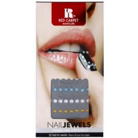 Red Carpet Nail Jewels камъчета за докорация на маникюр 3D Twinkling Crystals