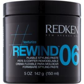 Redken Texturize Rewind 06 pasta modeladora para definir e formar   150 ml
