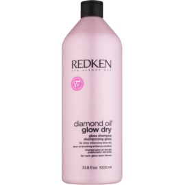 Redken Diamond Oil Glow Dry Gel Shampoo voor Dof Haar    1000 ml