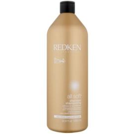 Redken All Soft shampoo voor droog en broos haar met Arganolie   1000 ml