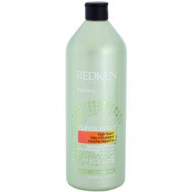 Redken Curvaceous shampoo in crema per capelli mossi e con permanente  1000 ml